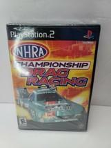 NHRA Championship Drag Racing - FACTORY SEALED PS2 PlayStation 2 - $27.95