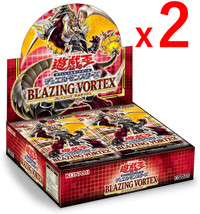 Yu-Gi-Oh Card Blazing Vortex Sealed First Edition 2 Boxes Set Japanese Official - $112.85