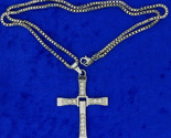 Toretto cross necklace silver thumb155 crop