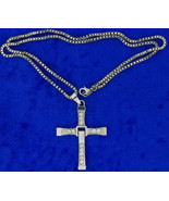 Toretto's Cross Necklace or Keychain Fast and Furious Chain Style Length... - $3.99+