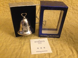 Reed & Barton Silver Plated 2001 Christmas Bell - $9.90
