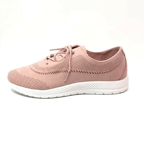 Primary image for Easy Spirit Womens Size 8 Wide Gerda2 Light Pink Lace Up Sneakers Comfort Shoes