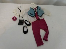 American Girl of today retired denim vest outfit + Pants pleasant company   - $45.56