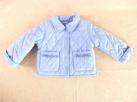 Quilted Puffer Jacket 12mos Long Sleeve Snap Close Pockets The Children's Place - $12.19