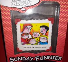The Family Circus Christmas Ornament Sunday Funnies Comics Enesco 1999 NIP  - $7.42