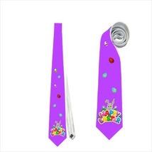 Necktie tie easter bunny eg violet - $22.00