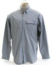 Under Armour Gray UA Fish Hunter Long Sleeve Button Front Shirt Men's NWT - $56.24