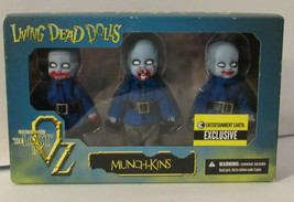 Munchkins MINI Living Dead Dolls WOZ Entertainment Earth NRFB MINT Mezco - $30.00