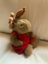 """12"""" Boyd's Bears Moose 1996 Pre-owned Brown Doll - $23.38"""