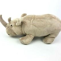 "Disney Parks Worldwide Conservation Fund Plush Stuffed Rhino Gray 14"" Re... - $24.74"