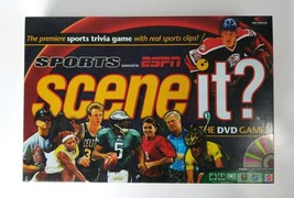 Scene It GAME Sports Edition powered by ESPN The DVD Game 2005 Screenlife - $11.20