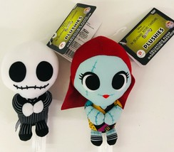 Funko Plushies Nightmare Before Christmas Jack Sally Set Walgreen Exclus... - $43.53