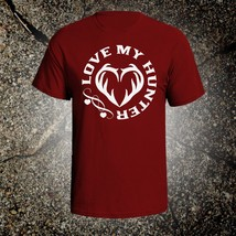 Love My Hunter vintage style graphic t shirt tee browning ruger mossberg... - $19.35+