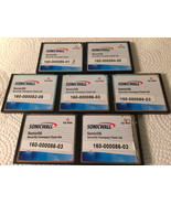 7 SonicWall Sonic OS Security Compact Flash 64mb lot - $31.35