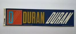 Duran Duran 1984 Bumper Sticker Original NOS Unused Bi-Rite New Wave Pop... - $21.74