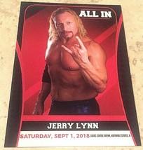 All In New F'N Show Jerry Lynn #22 Trading Card, WWF WCW ECW TNA GWF WWA... - $9.36