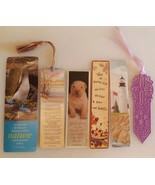 Lot of 6 Bookmarks FUN Collection Library Book Store Penguin Lighthouse ... - $9.89