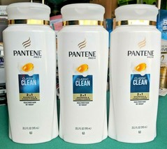 Lot 3 Pantene Pro-V Classic Clean 2 in 1 Shampoo & Conditioner 20.1 oz - $15.88