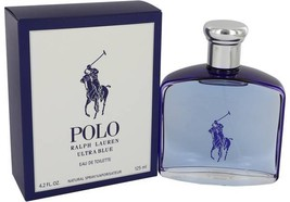 Polo Ultra Blue Cologne  By Ralph Lauren for Men 4.2 oz Eau De Toil... - $93.50