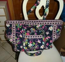 Vera Bradley Get Carried Away Bag in Ribbons pattern - $54.00
