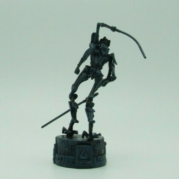 Star Wars Saga Edition Black General Grievous Chess Replacement Game Piece image 3