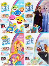 Crayola Color Wonder Coloring Book & Markers Mess Free  Frozen-Baby Shark-Lion.. - $8.99