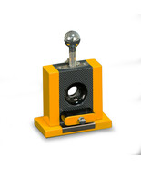 Bey-Berk Cigar Cutter W/Drawer Yellow & Carbon Fiber Color - $121.95