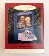 VTG Hallmark Keepsake Ornament~ Our Christmas Together ~1996 Santa Mrs Clause  - $16.78