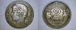 1932 French 2 Franc World Coin - France - $4.99
