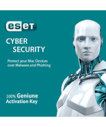 ESET Cyber Security for MacOS 1 PC / 3 PCs for 1 Year,Nepal's License in... - $11.64 CAD+