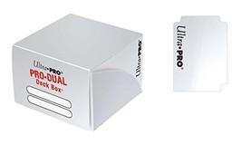 Ultra PRO Dual Deck Box, White, Standard - $5.87