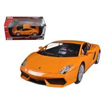 Lamborghini Gallardo LP-560-4 Orange 1/24 Diecast Model Car by Motormax ... - $29.91