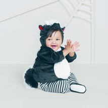 Baby Plush Skunk Vest Costume - Hyde and Eek! Boutique - $12.50