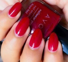 Avon True Color Pro+ Nail Enamel *ROYAL RED* Red Nail Polish - Strengthe... - $3.95