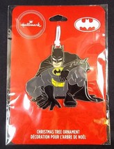 Hallmark DC BATMAN flat metal Christmas ornament on card 2019 NEW - $6.76
