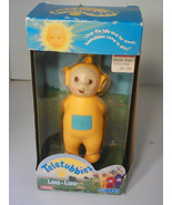 NEW NEVER USED Teletubbies NIB plastic Laa-Laa doll by Playskool, 1998 A... - $19.99