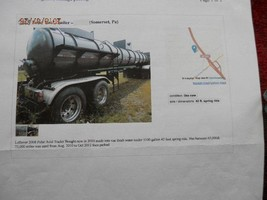 2008 Polar Vacuum Trailer Tanker For Sale In Sumerset, PA 15501 image 2