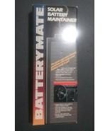 VTG 12V Solar Powered Car Battery Charger with Led Indicator Battery Mat... - $9.89