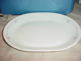 CORELLE ENGLISH BREAKFAST OVAL SERVING PLATTER NEW FREE USA SHIPPING - $28.04