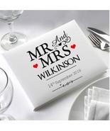 Personalised  Wedding Guest Book Scrapbook Memory Book Album  - NEW MR &... - $37.86