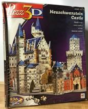 NEW Puzz3D Neuschwanstein Castle Wrebbit Puzzle 836 Pieces SEALED - $34.64