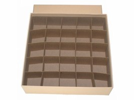 Guardhouse Coin Tube Storage Box, Heavy Duty - Large Dollar/Tan image 2