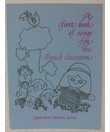 SONGS FOR the FRENCH CLASSROOM Sheet Music Book - Ukulele, Guitar Children - $4.37