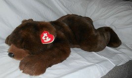 "Vintage 1996 Ty Large Paws The Bear 28"" Retired 28"" Lay Down Bear Excellent - $13.98"