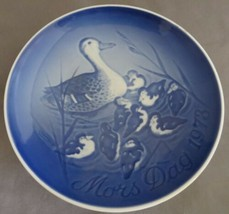 "Mother's Day 1973 Bing & Grondahl Royal Copenhagen Porcelain 6"" Plate Ducks - £3.08 GBP"