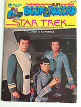 Star Trek Book & Record Set The Crier in Emptiness1979 Vintage Audio Boo... - $48.17