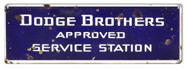 Dodge Brothers Reproduction Gas Station Large Metal Sign 8x24 - $43.51