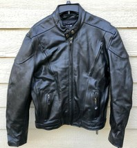 XELEMENT Men's Motorcycle Genuine Leather Jacket - Large. - $94.05