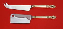 Monte Cristo by Towle Sterling Silver Cheese Server Serving Set 2pc HHWS  Custom - $101.75