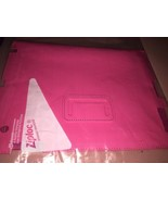 """StyleFolio Pink iPad Pro 10 X 8 """"Folio Case Shell Cover Stand Leather - $8.72"""